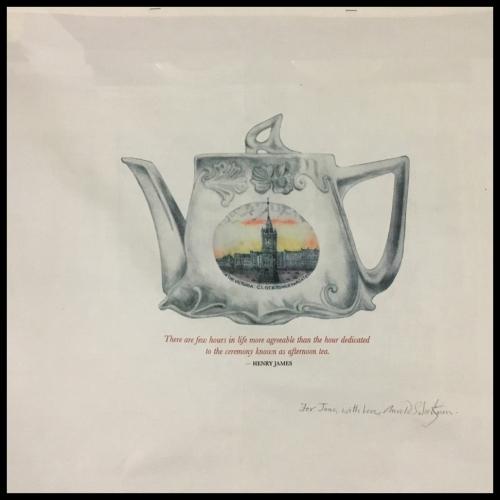 164. Arnold Schwartzman OBE RDI FRSA